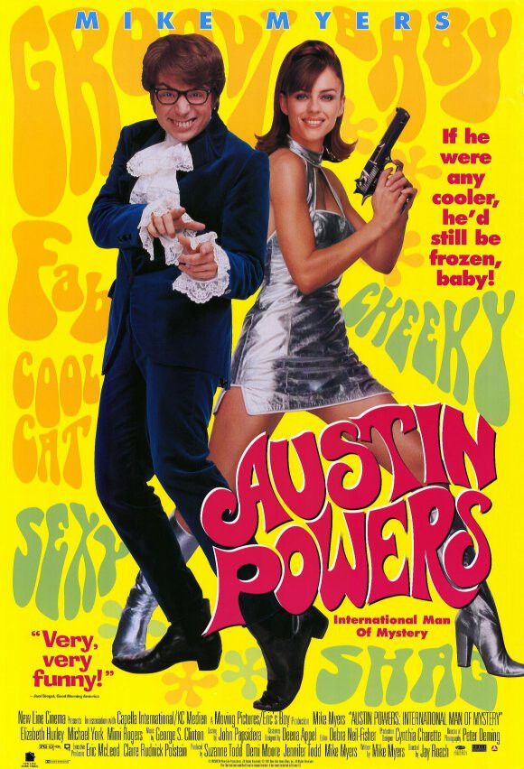 Austin Powers (1997)(*)