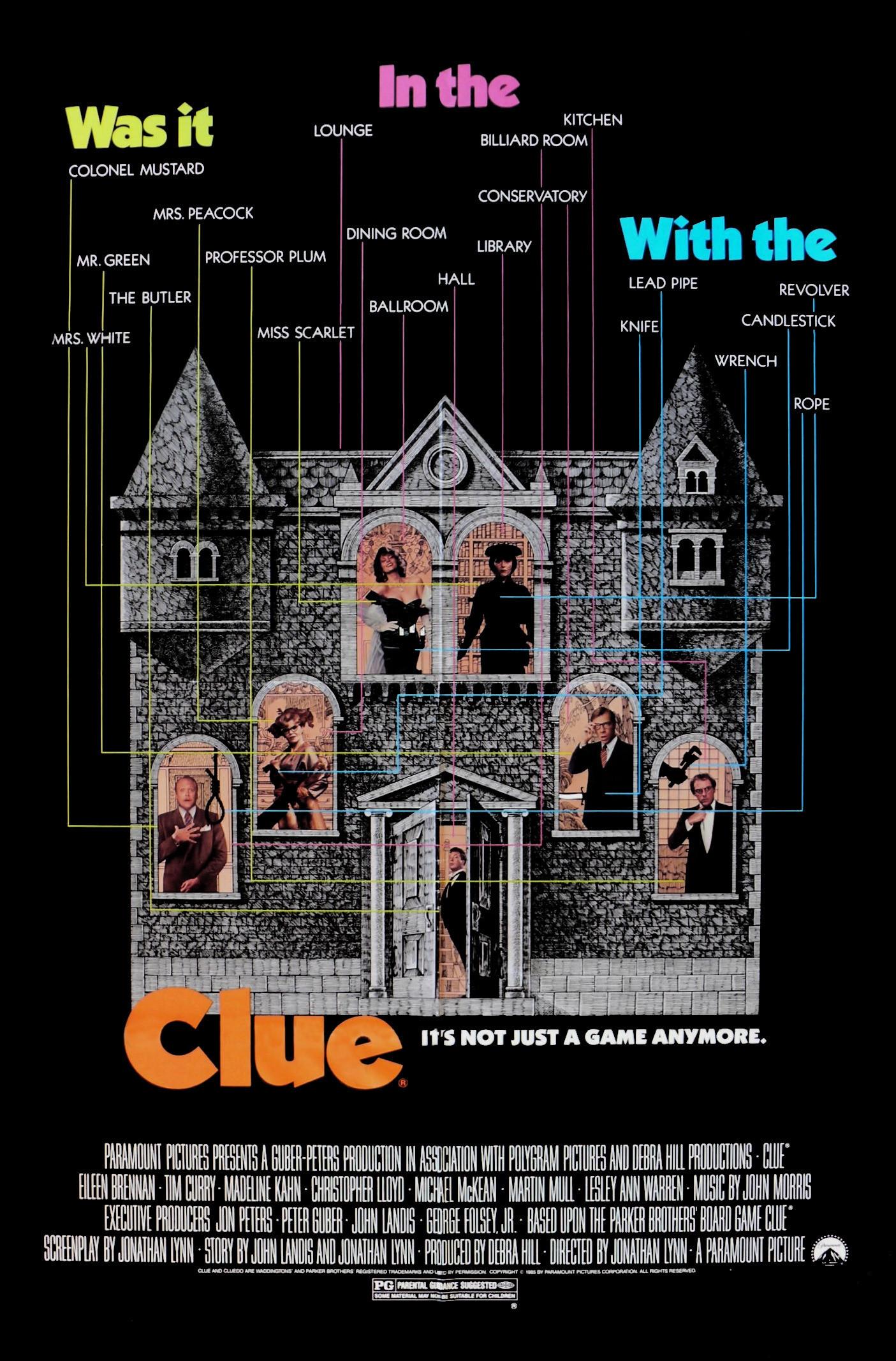 Clue (1985)(*)