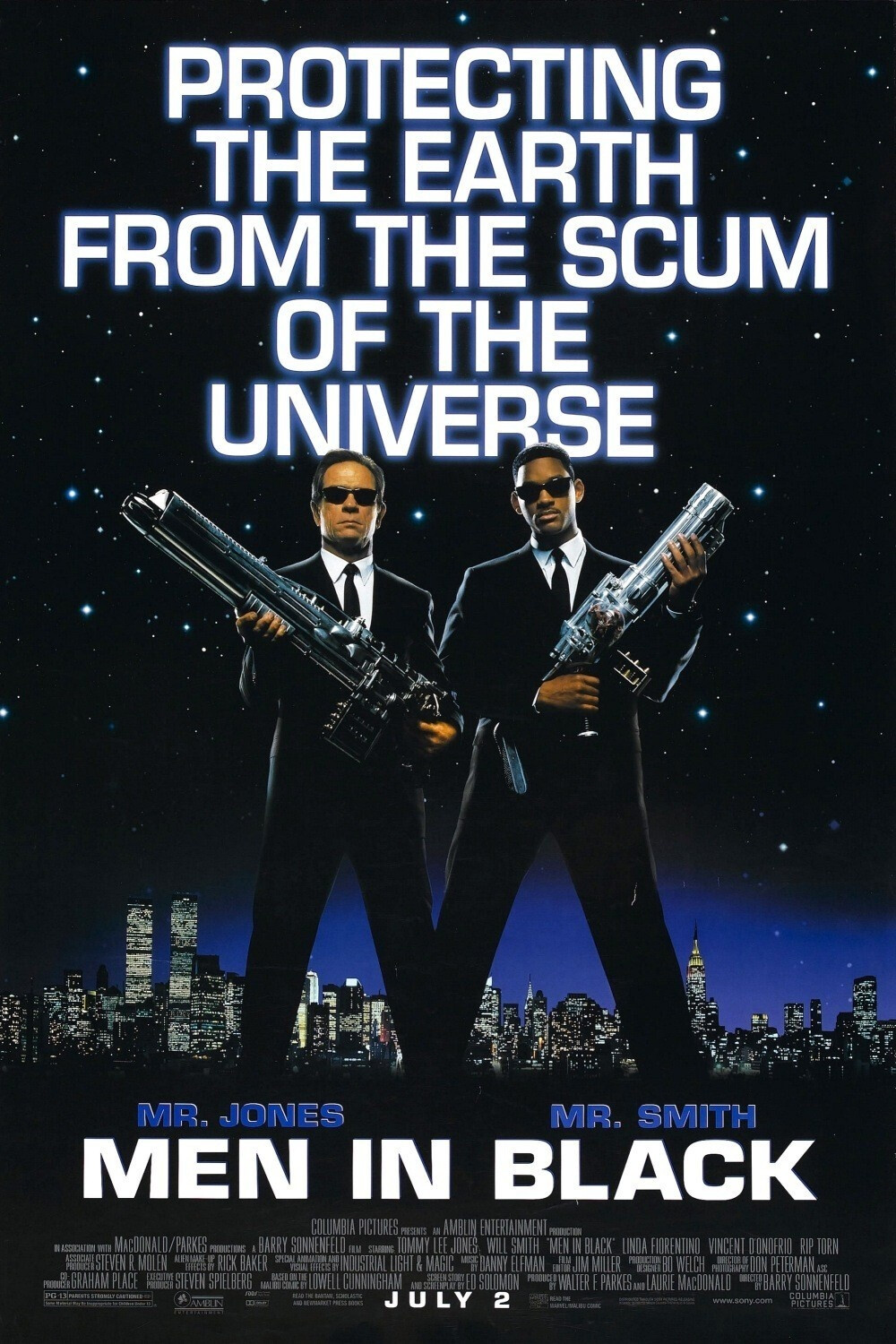 Men in Black (1997)(*)