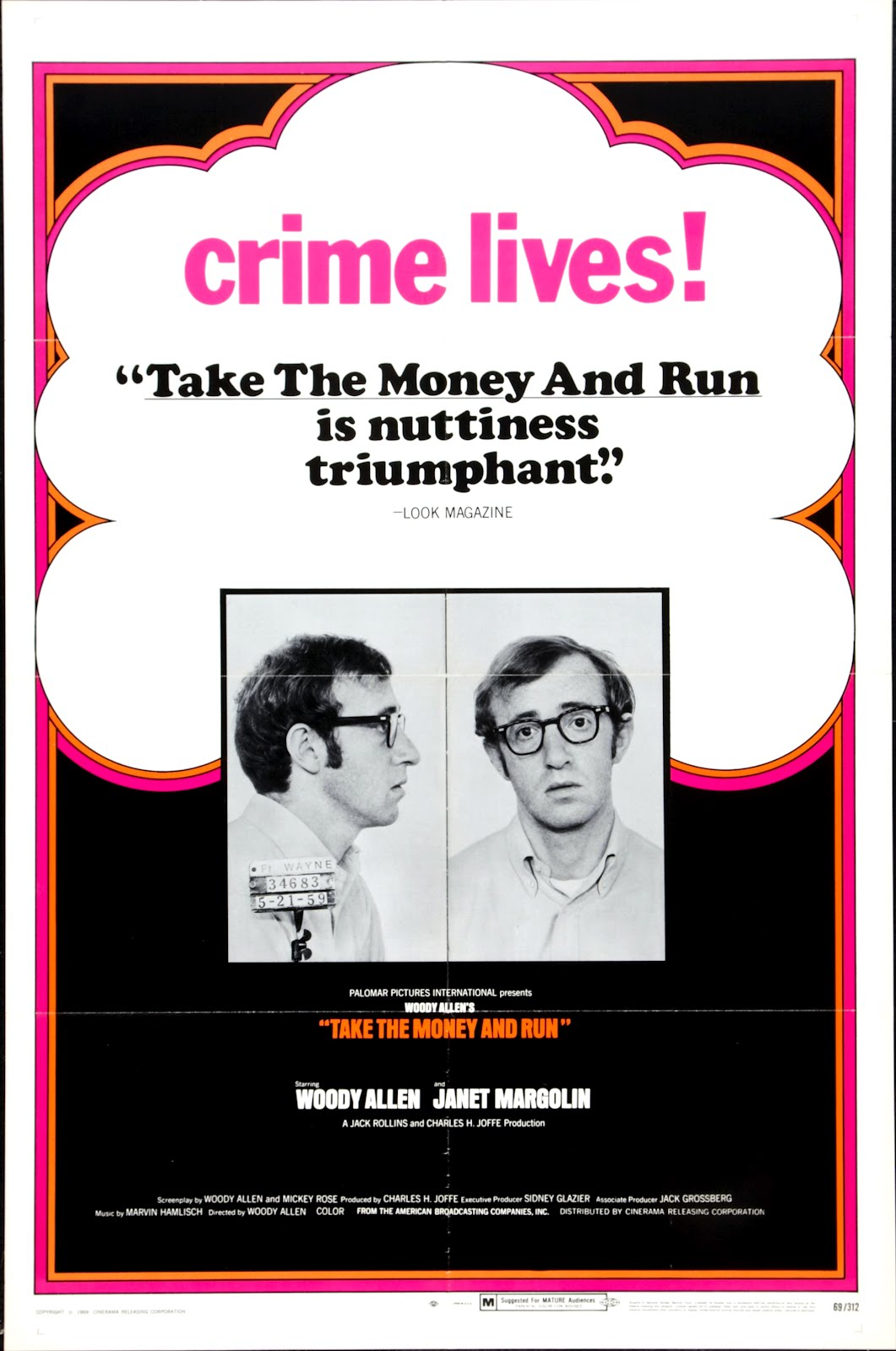 Take The Money And Run 1969