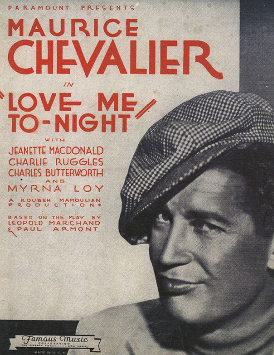 Love Me Tonight (1932)