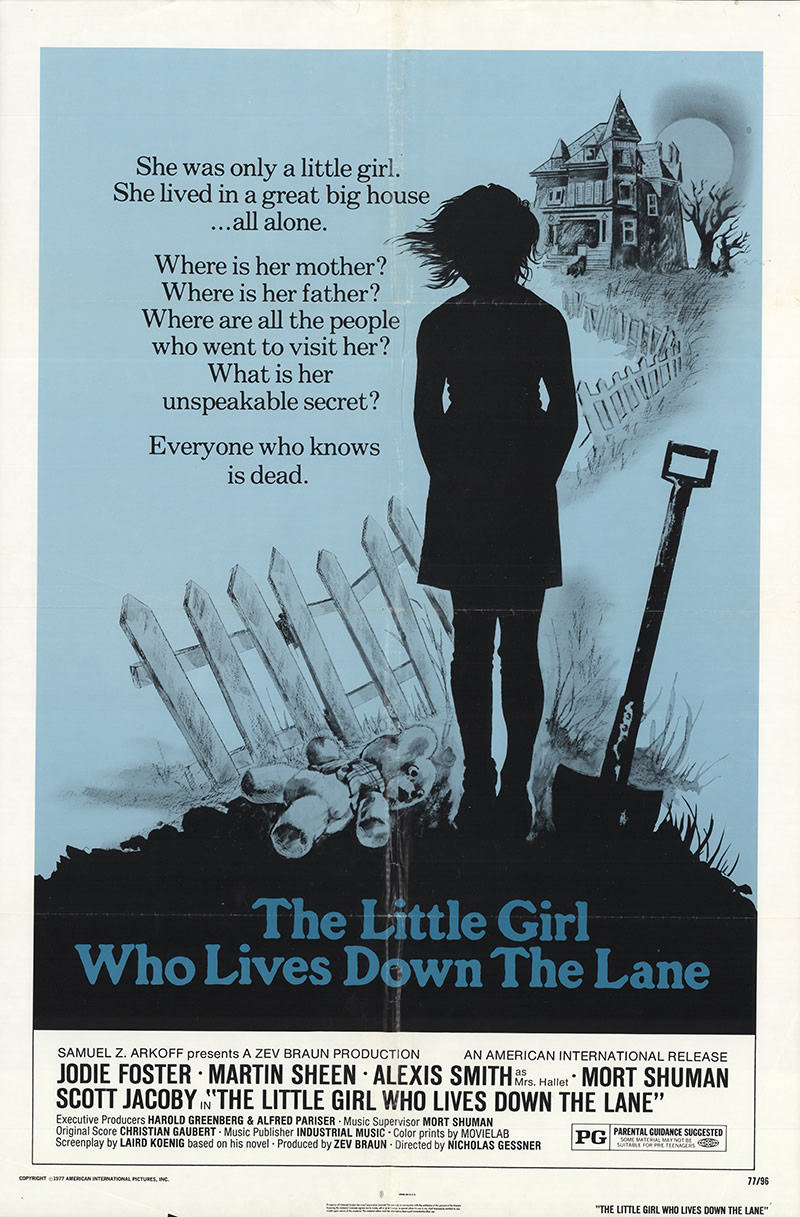 Little Girl Who Lives Down The Lane (1976)