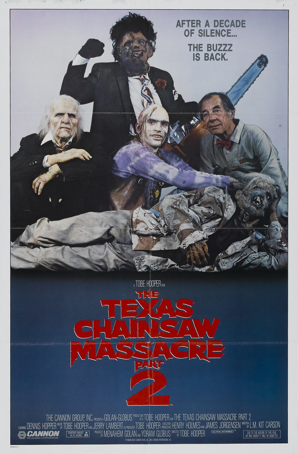 The Texas Chainsaw Massacre Part 2 (1986)