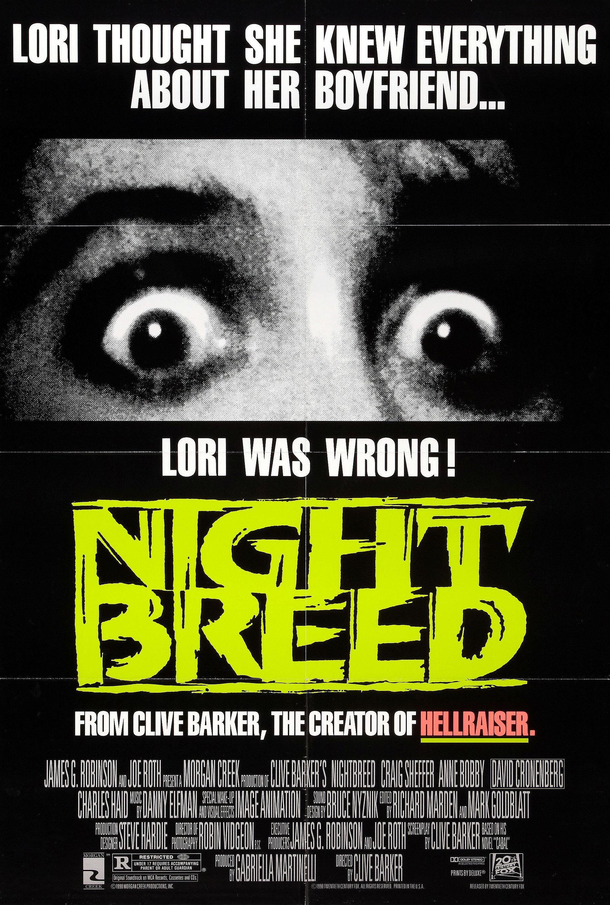 Nightbreed: Director's Cut (1990)