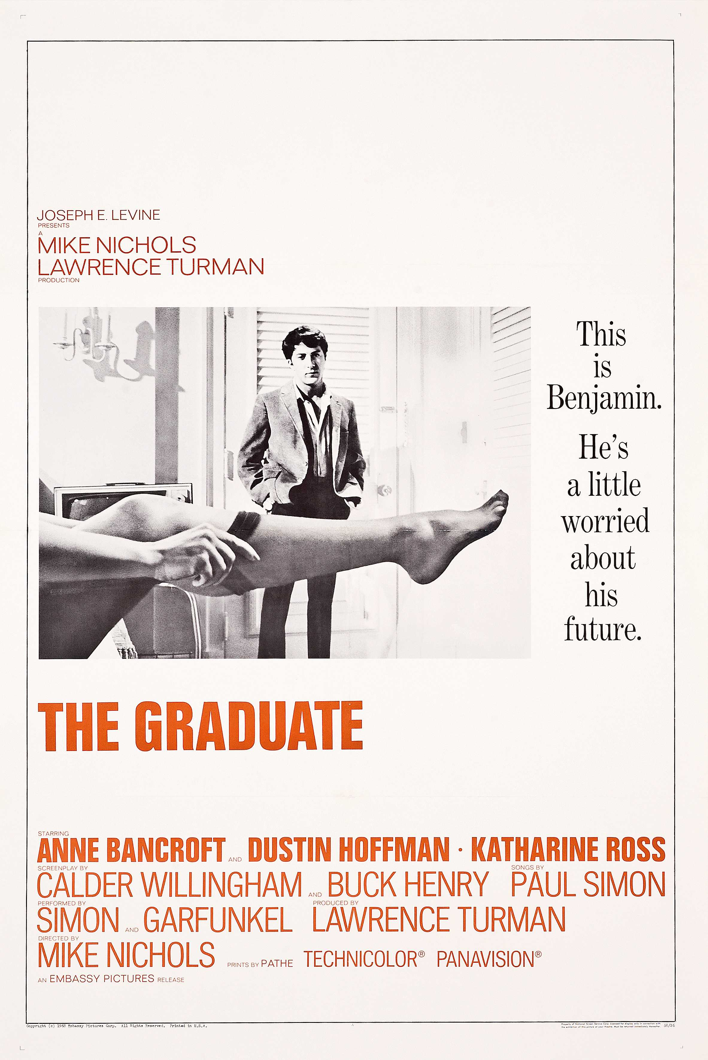 #5: The Graduate (1967)