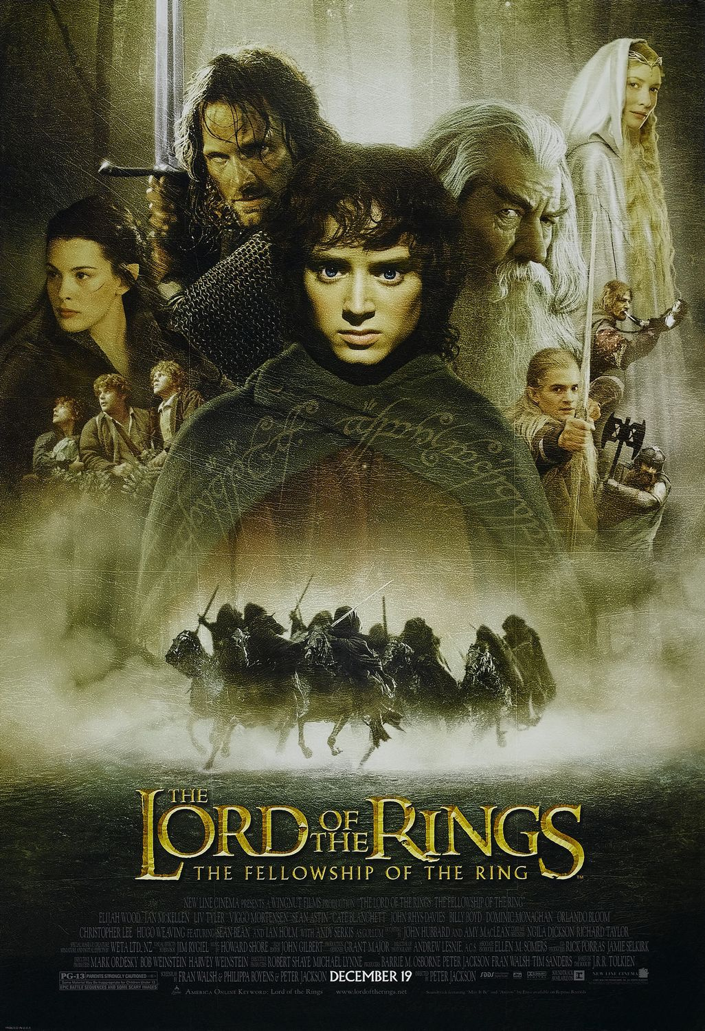 #11: The Lord of the Rings: The Fellowship of the Ring (2001)