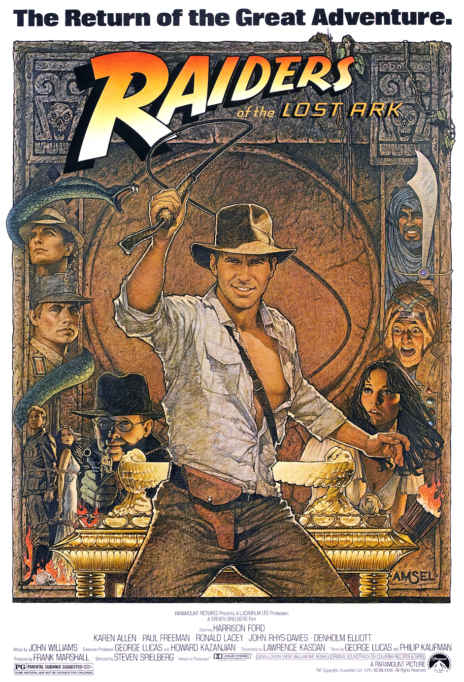 #15: Raiders of the Lost Ark (1981)