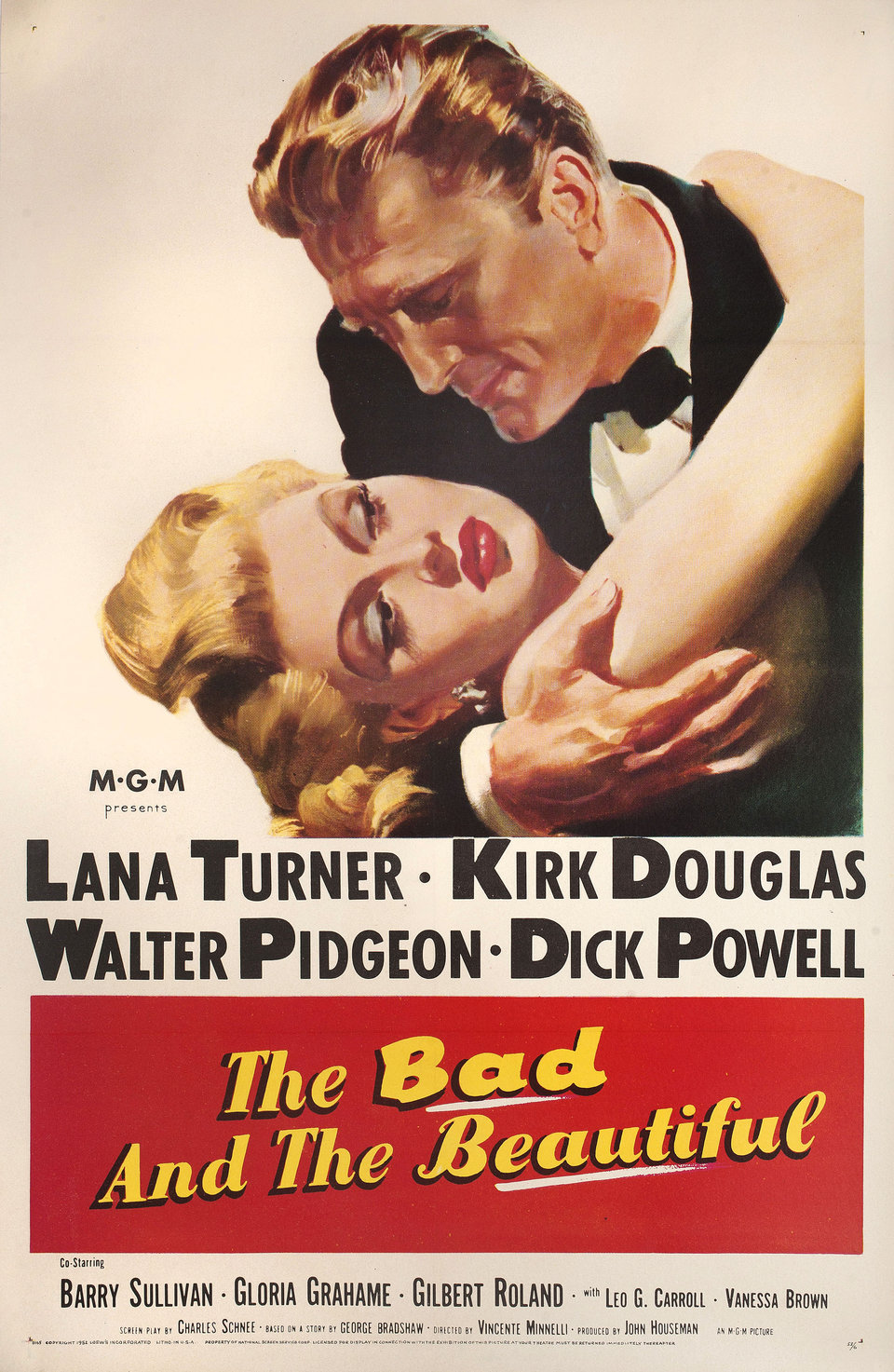 Bad And The Beautiful 1952
