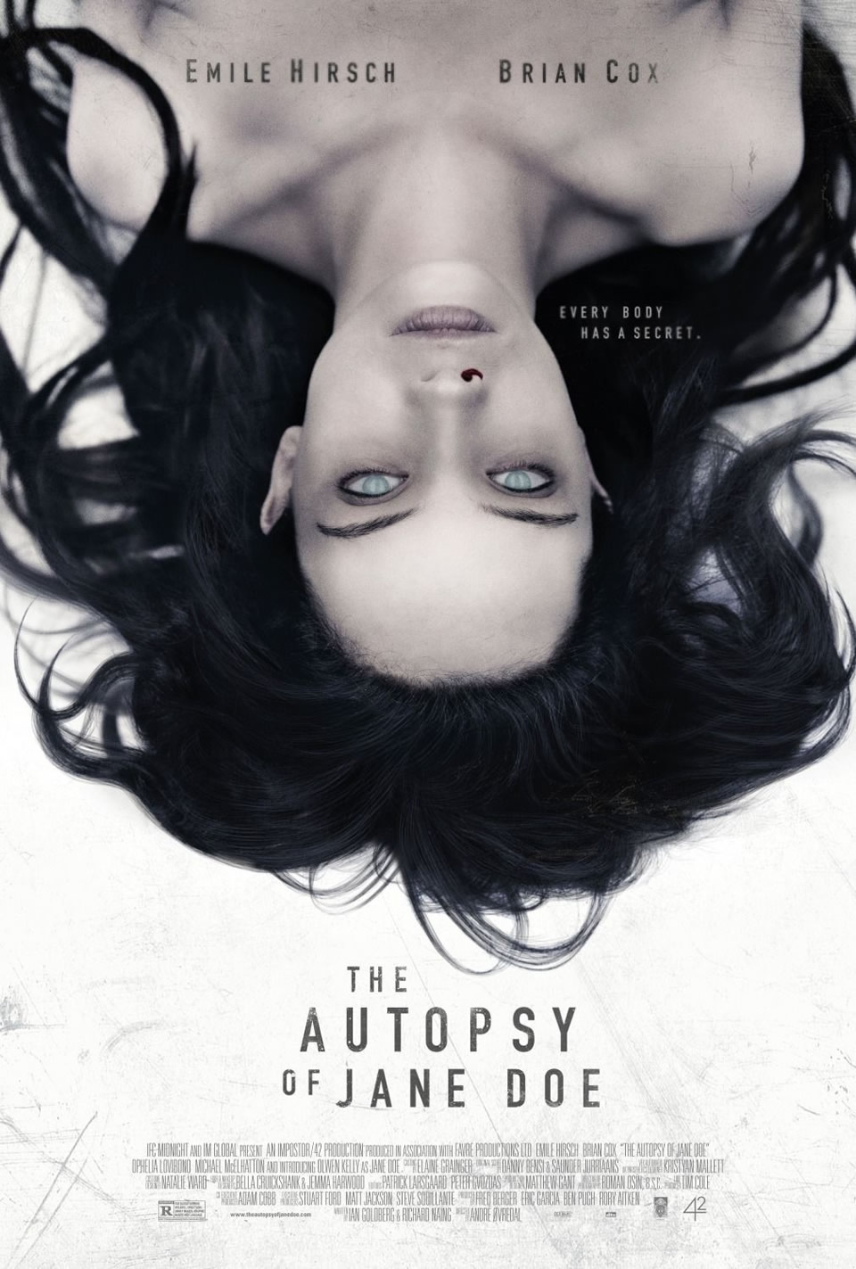 10 - The Autopsy of Jane Doe (2016)