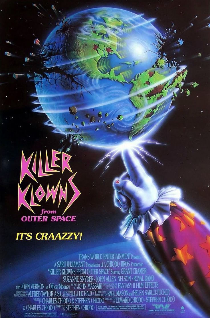35 - Killer Klowns from Outer Space (1988)