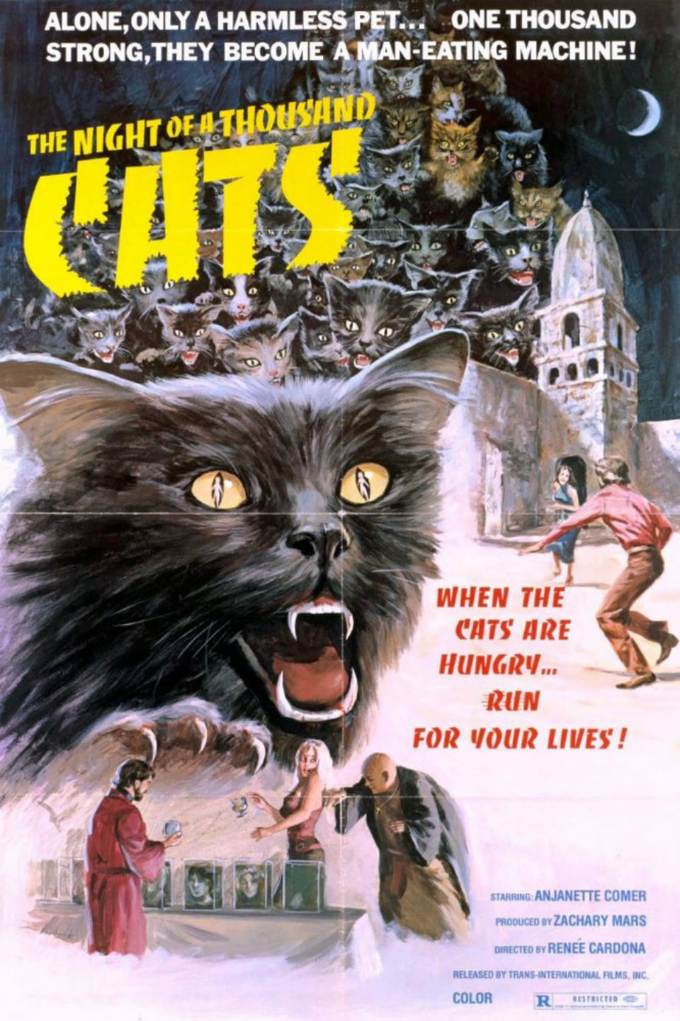 Night of a Thousand Cats (1972)