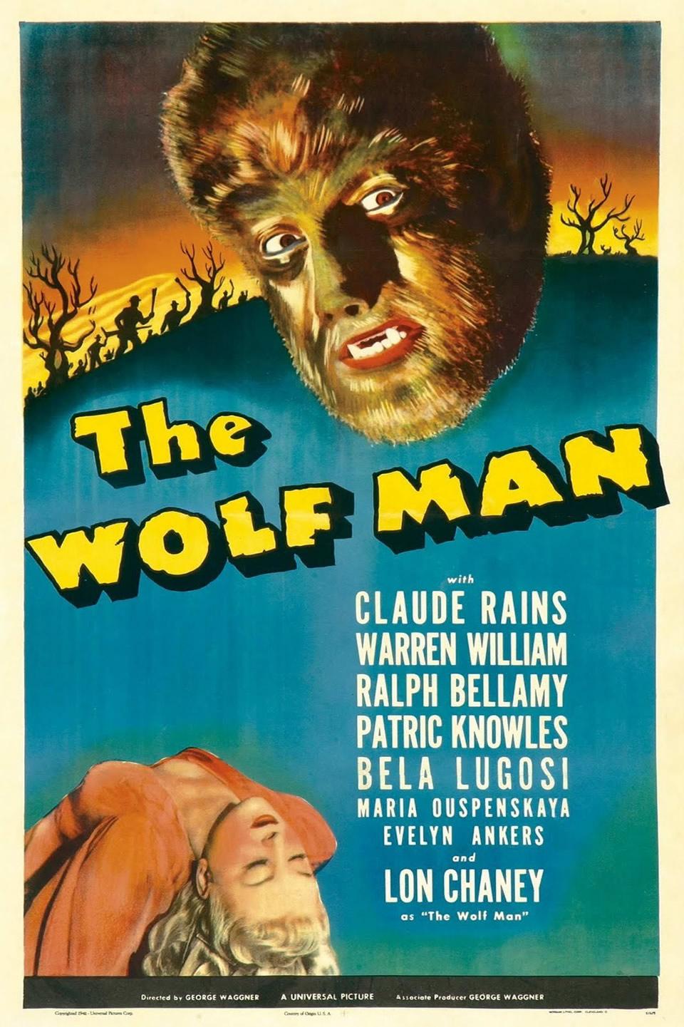 27 - The Wolf Man (1941)