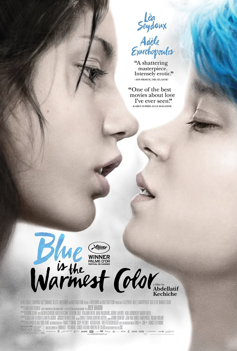 3. Blue Is the Warmest Color (2013)