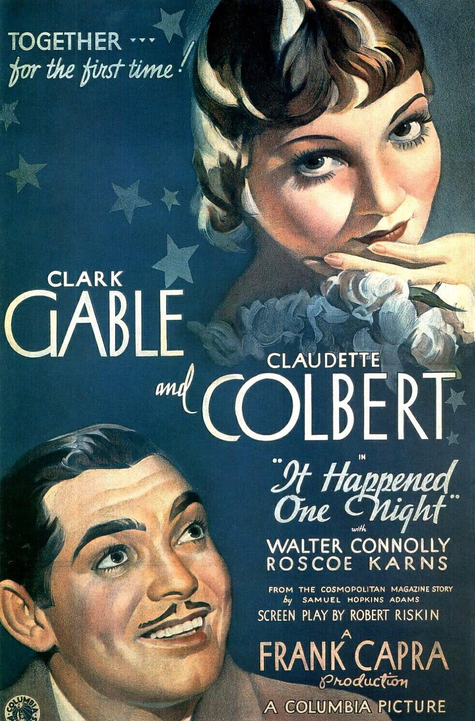 1. It Happened One Night (1934)