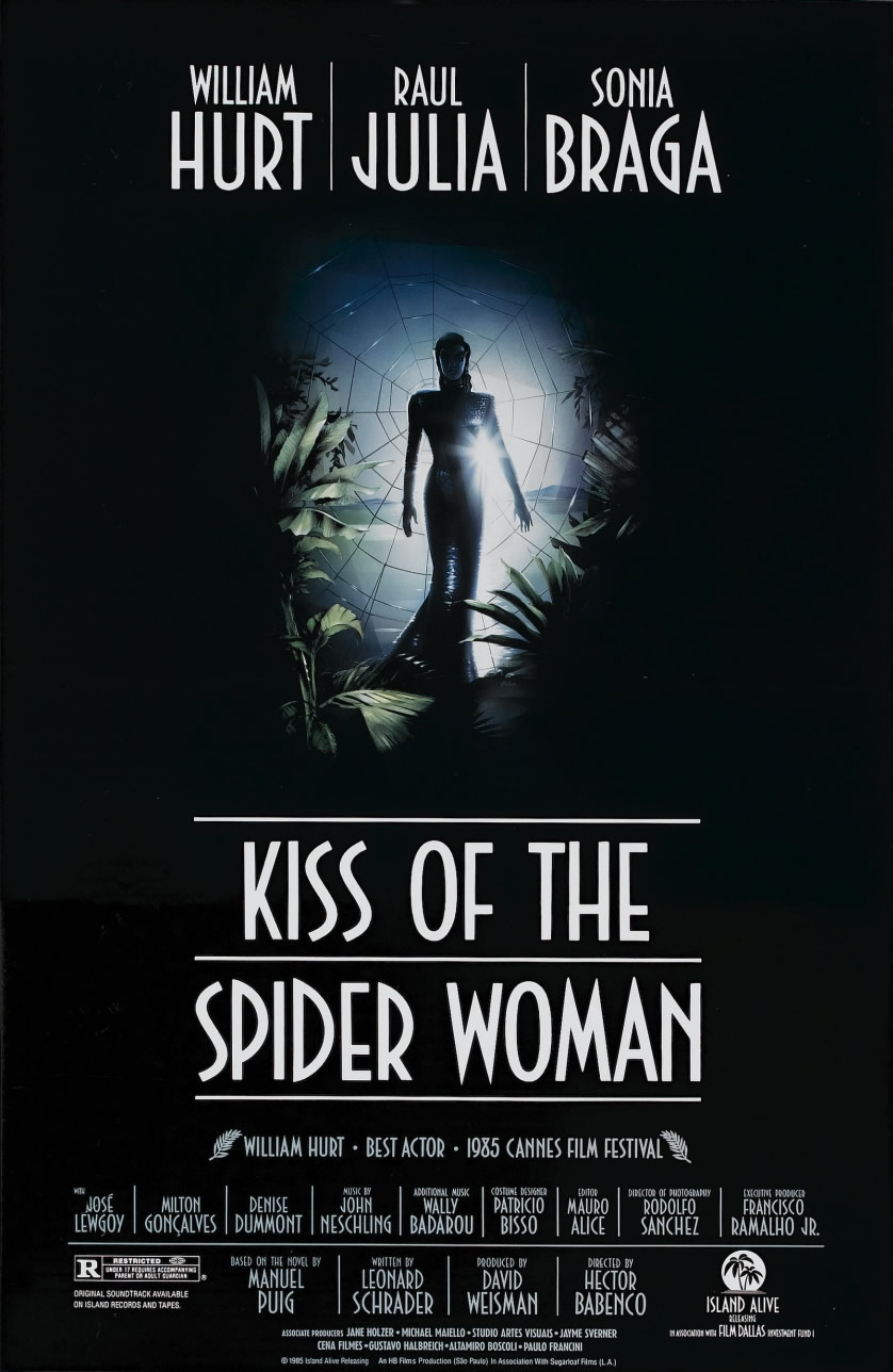 5. Kiss of the Spider Woman (1985)