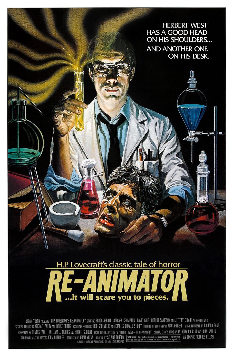 4. Re-Animator (1985)