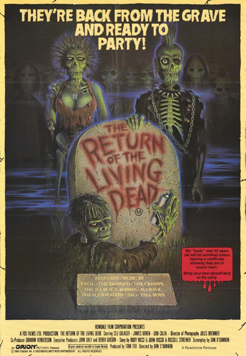 3. The Return of the Living Dead (1985)